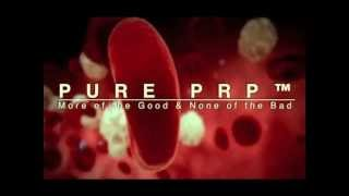 Pure PRP is an Evolution in Platelet Rich Plasma by removing ALL RBC and Neutrophils