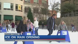 Ice on Main opens today