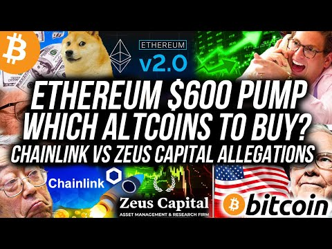Ethereum WILL PUMP Altcoins! Chainlink vs Zeus Capital! Bitcoin Price To $14k THIS WEEK! Crypto News