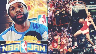 The Shortest Dunker in NBA History! NBA Jam on Fire Edition! #8 - He Choked! (Real AI Difficulty)