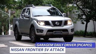 Garagem Daily Driver (Picapes): Nissan Frontier SV Attack entrega estilo e força bruta