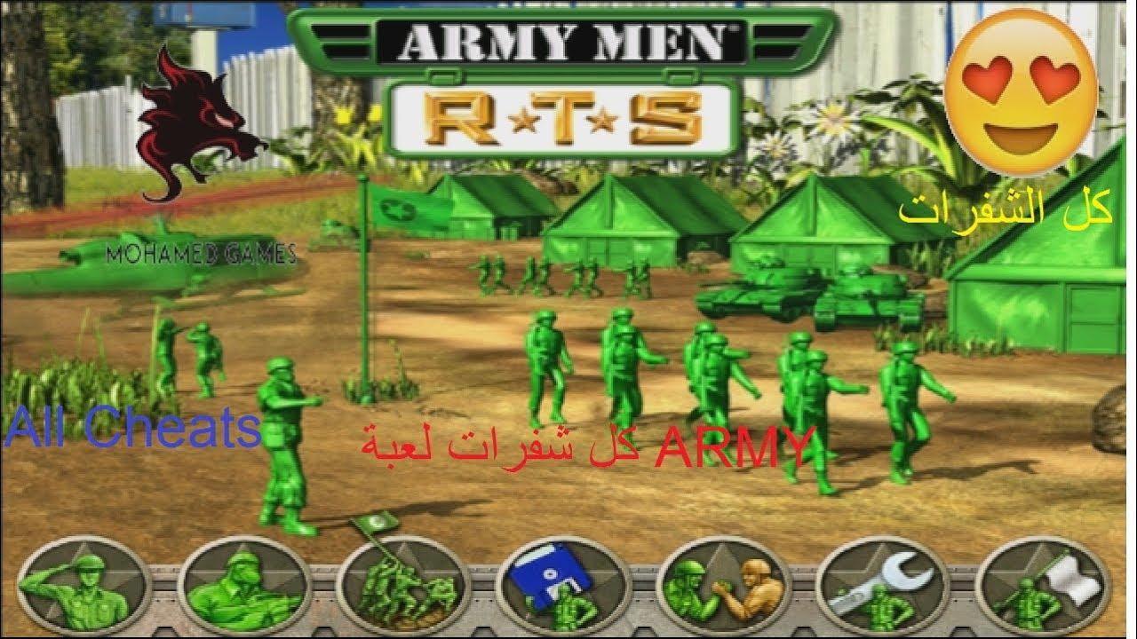 نتيجة بحث الصور عن لعبة Army Men Strike مهكرة للاندرويد
