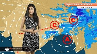Weather Forecast for February 24: Pleasant weather in Delhi, rain in West Bengal, Odisha, Jharkhand