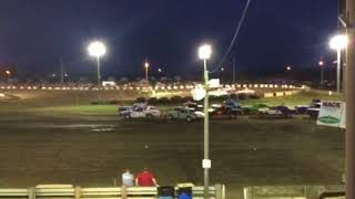 Figure 8 Racing in Osage Fair @ 7pm 8/3/18 Cruiser Feature Pt 6