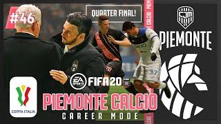 Piemonte vs Atalanta Perempat Final Coppa Italia FIFA 20 Career Mode Piemonte Calcio 46