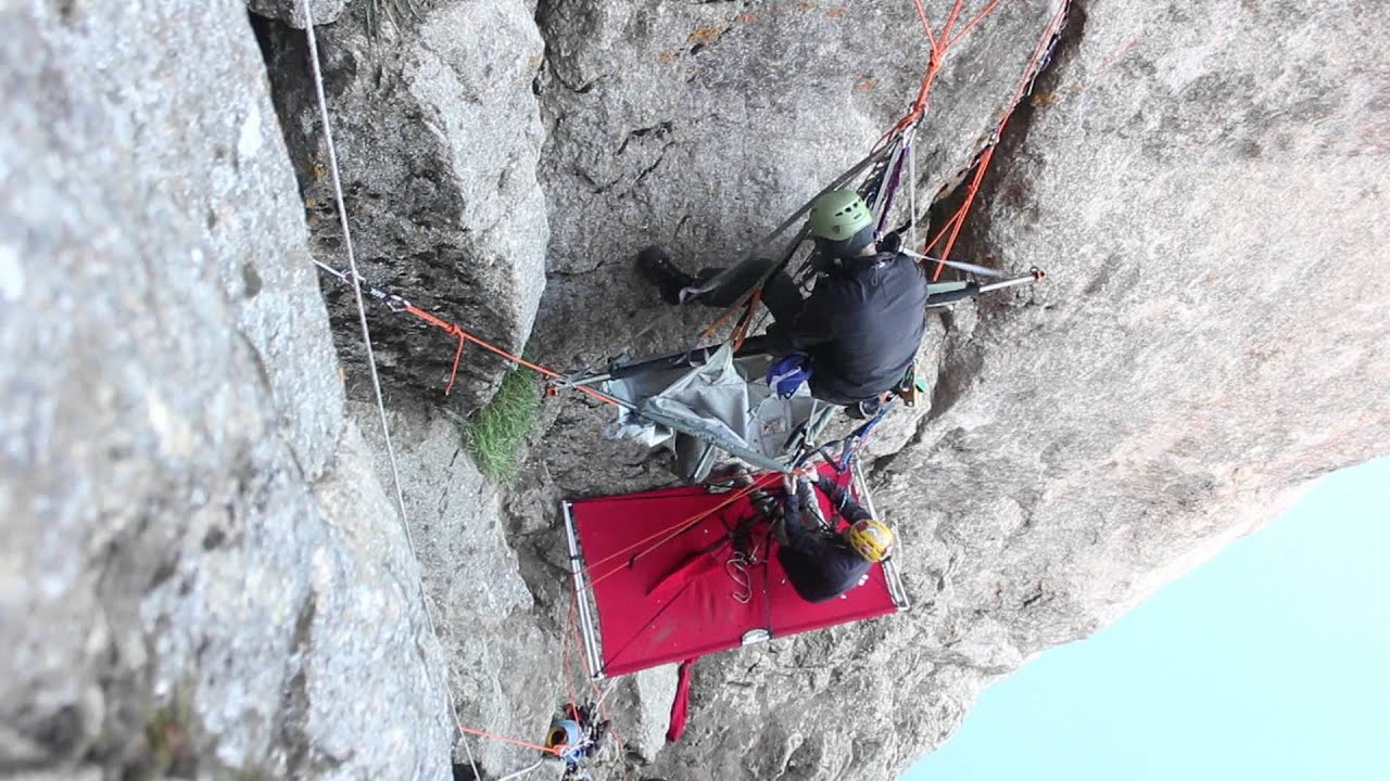 Timelapse Of Portaledge Setup Youtube
