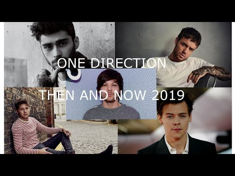 ONE DIRECTION THEN AND NOW 2019