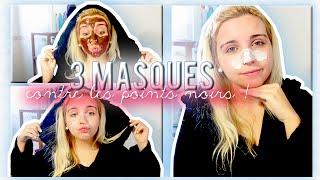 [ DIY n°2 ] : 3 masques contre les points noirs fait maison ♡