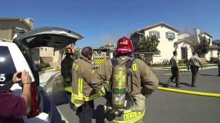 Vintners Grove Fire, Rancho Cucamonga 8/21/2013