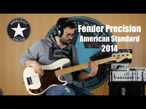 Fender Precision Bass | American Standard 2014 | Angeldust-guitars.com