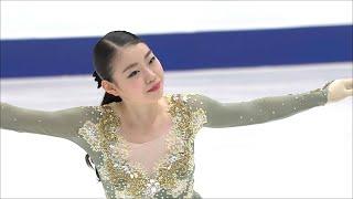 Рика Кихира. Произвольная программа. Женщины. NHK Trophy. Гран-при по фигурному катанию 2019/20