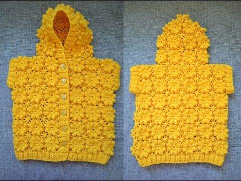 Детский жилет с капюшоном (Childrens vest with hood)