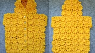 """""""Детский жилет с капюшоном"""" (Children's vest with hood)"""