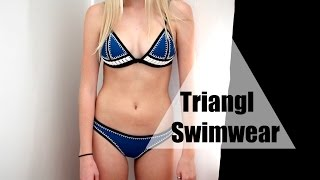 Triangl Swimwear Review + try on / Farrah Bikini