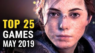 Top 25 NEW Games of May 2019 (PS4, Switch, PC, XB1) | whatoplay