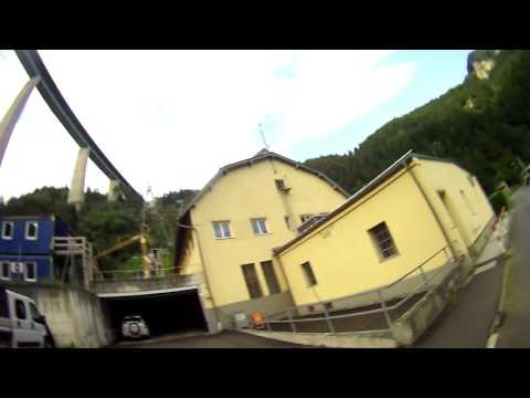 After landing at Europa Bridge in Austria - pretty cool 2016