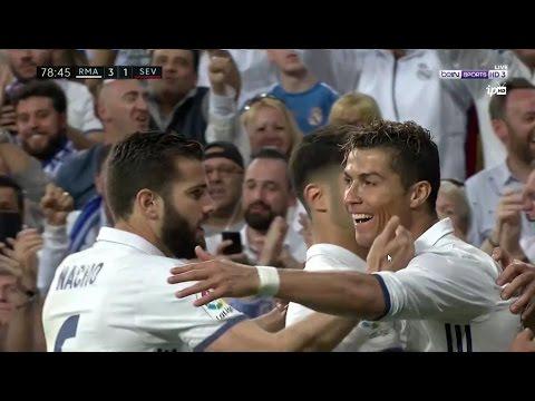 أهداف مباراة ريال مدريد و اشبيلية 4-1 | شاشة كاملة | الدوري الاسباني