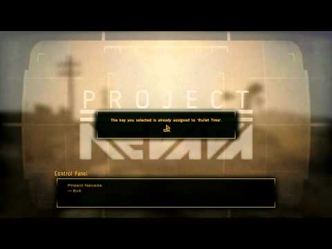 Project Nevada - Control Panel Demo