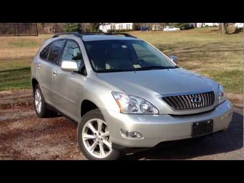2008 Lexus RX350 Review, Walk Around, Start Up & Rev, Test Drive