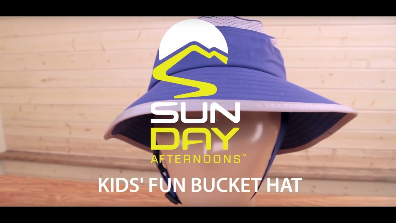 ca0115703 Kids' Fun Bucket Hat | SundayAfternoons.ca