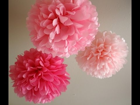 Diy tissue paper flower youtube diy tissue paper flower mightylinksfo