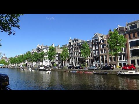 Как живёт Амстердам без туристов.