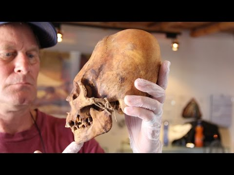 Tombs Of the Elongated Skulls Of Paracas Peru