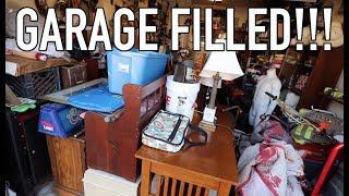 PICKERS LIFE - Organizing Hoard, Scrapping Metal, Trash Picking!
