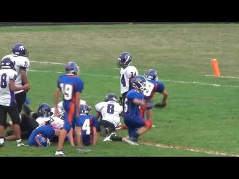 Genoa Kingston High School Game Winning Touchdown