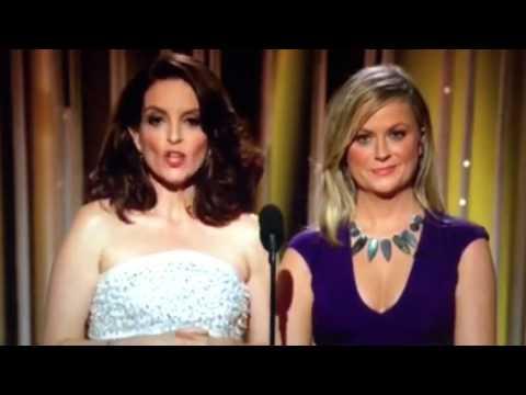 BEST Golden Globes 2015 Joke - Amal & George Clooney and Lifetime Achievements