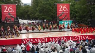 YOSAKOI ソーラン祭り2017 北鼓童&名寄市立大学