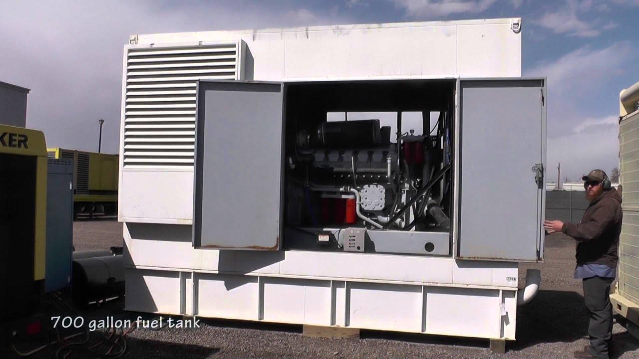 750 kW MTU Standby Diesel Generator Low Hour Used Genset
