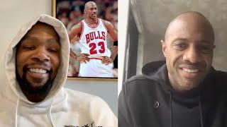 Kevin Durant talks Michael Jordan with Jay Williams / The Last Dance