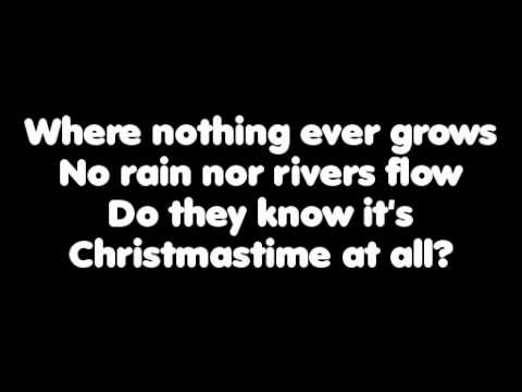 Band Aid 20 - Do They Know Its Christmas - With Lyrics