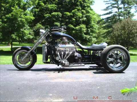 Custom V8 Trike Motorcycles on ford flathead v8