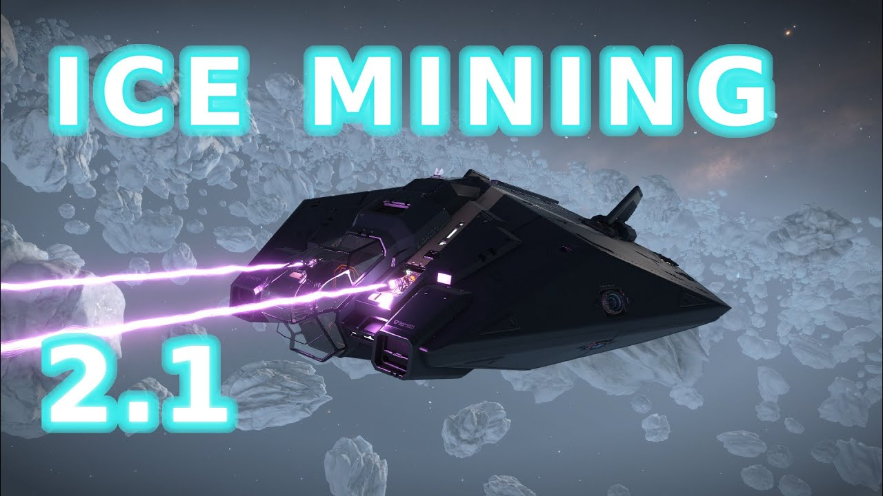 ELITE DANGEROUS ICE MINING 2 1