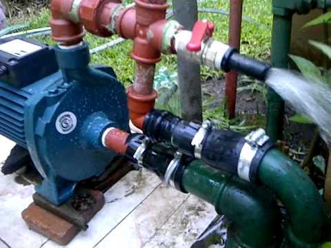 Bomba centrifuga funcionando thumbnail
