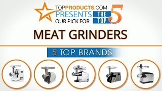 Best Meat Grinder Reviews 2017 – How to Choose the Best Meat Grinder