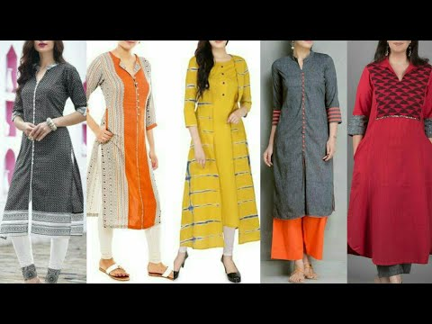 Latest Stylish And Trendy Designer Casual Kurta/Kurti Dress Design//New Fashion Trends 2019