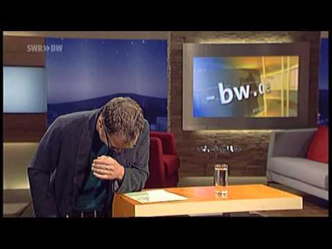 Jürgen Hörigs Lachanfall in der Landesschau