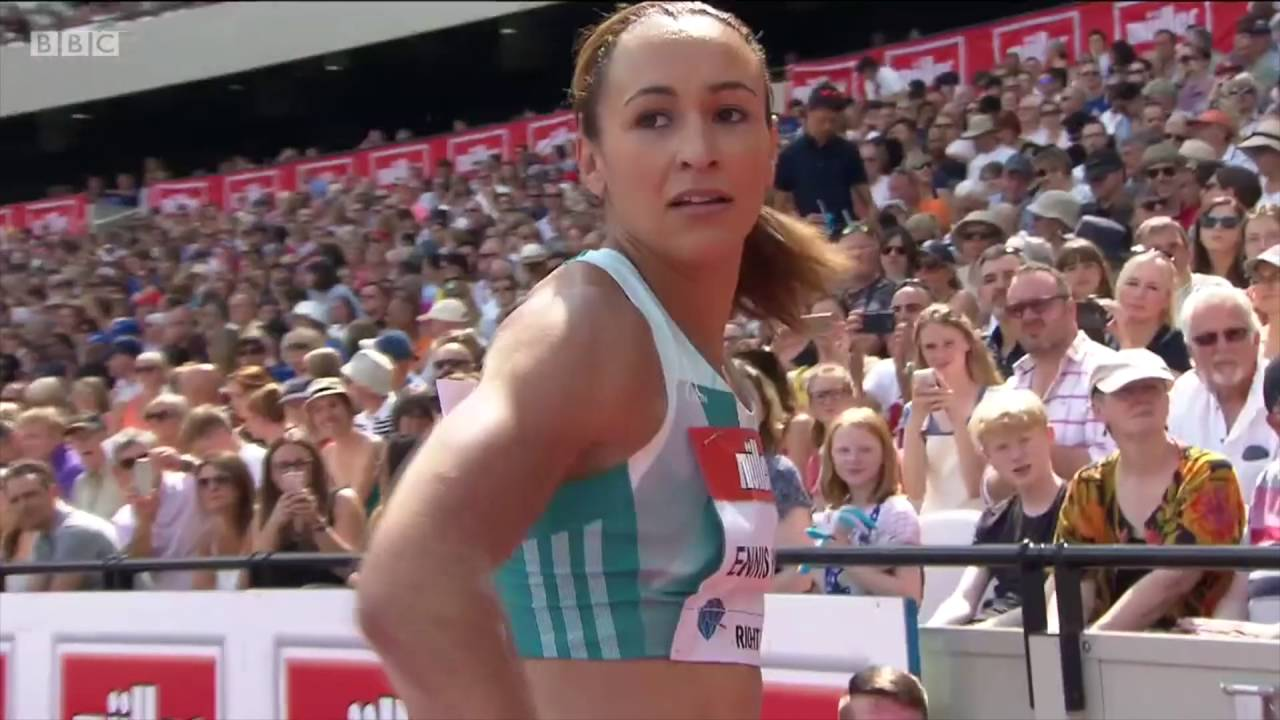 Jessica enis anniversary games 2016 youtube