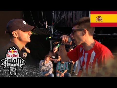 BOTTA VS MC MEN – Ronda Clasificatoria Última oportunidad: Gijón, España 2018