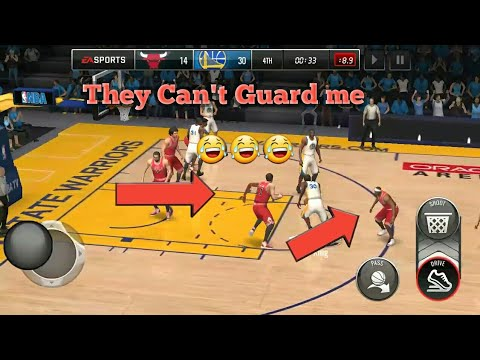 THEY CAN'T GUARD ME!! | Gameplay of NBA Live Mobile