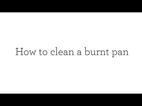 How To Clean A Burnt Pan | Good Housekeeping UK