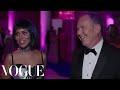 Kerry Washington and Michael Kors on Her Sexy Cutout Dress | Met Gala 2017