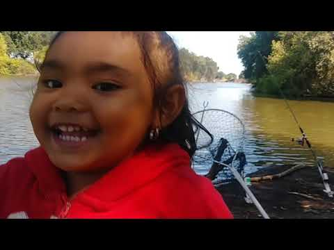 First Time Fishing For Carp At Manteca Slough With My YouTube Friends. 7/16/20