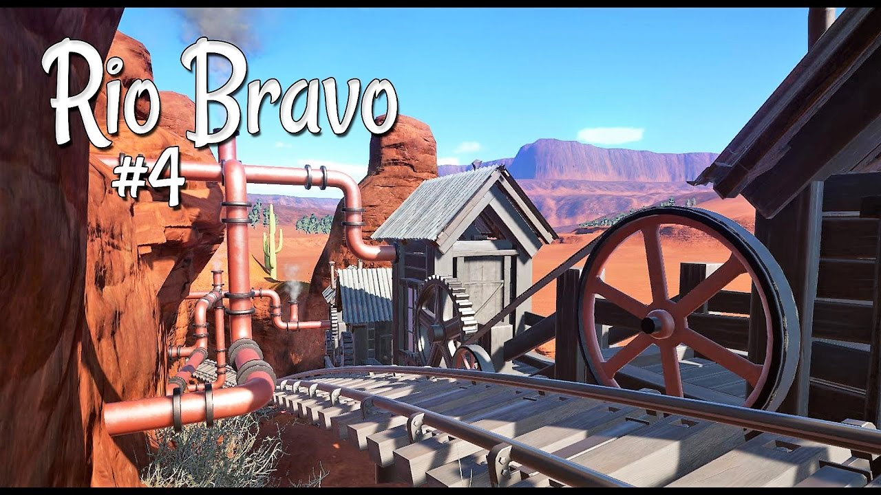 Planet coaster western rio bravo ep 4 steampunk for Plante western