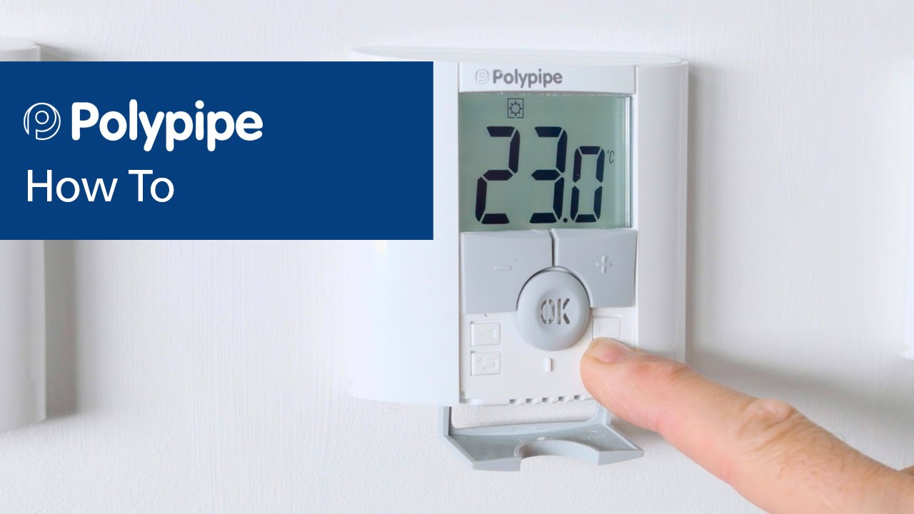 Pairing Dial and Digital Thermostats | Polypipe Underfloor Heating  YouTube