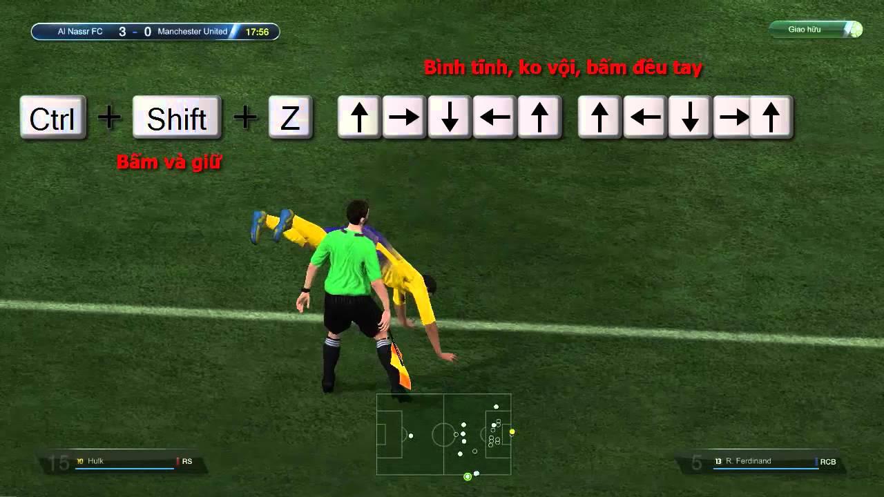 FIFA Online 3 ▻ Hướng dẫn Ăn mừng bàn thắng Santo