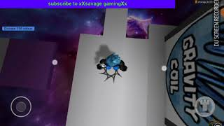 Playing escape the roblox obby on tablet(my roblox creation)with xXsavage gamingXx